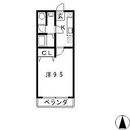 マンションスミオ[1階]の間取り