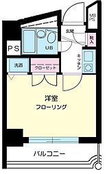 キャピタルビュー平和島[6階]の間取り