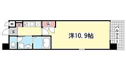エスライズ新神戸[1101号室]の間取り