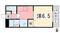 JUNO[203号室]の間取り