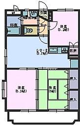 さくらマンション[101号室]の間取り