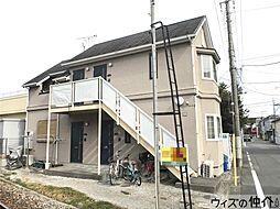 群馬県高崎市下和田町4丁目の賃貸アパートの外観