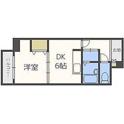 札幌パークガーデン[4階]の間取り