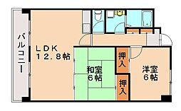 レスピーザ53[1階]の間取り