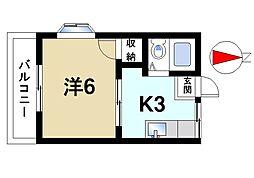 タクトM[1階]の間取り