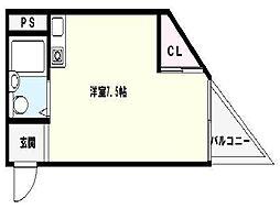 エルドムス陽光一番館[7階]の間取り