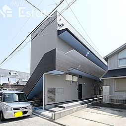 愛知県名古屋市南区岩戸町の賃貸アパートの外観