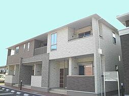 兵庫県姫路市広畑区蒲田2丁目の賃貸アパートの外観