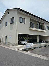 滋賀県近江八幡市鷹飼町東2丁目の賃貸アパートの外観