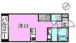 サクラガーデン[105 号室号室]の間取り