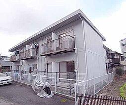 京都府京都市左京区上高野山ノ橋町の賃貸アパートの外観