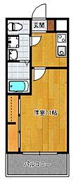 サヴォイテンジンクォーター[14階]の間取り