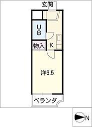 LORM K−1[3階]の間取り