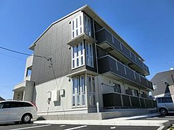 愛知県清須市花水木1丁目の賃貸アパートの外観