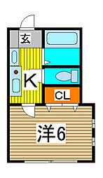 ラミアアルテ[1階]の間取り