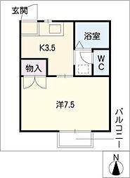 エルム21[2階]の間取り