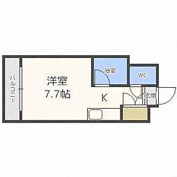 シェノール札幌[7階]の間取り