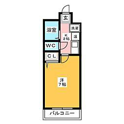 アクタス博多[11階]の間取り