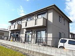 兵庫県明石市魚住町住吉2の賃貸アパートの外観