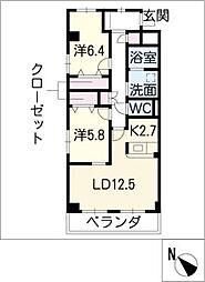 藤陽レジデンス[3階]の間取り