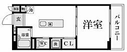 パラシオ夙川名次[2階]の間取り