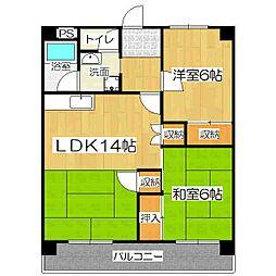 Le・Reve(ラ・レーヴ)[3階]の間取り