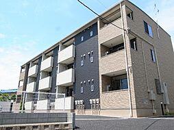 千葉県市原市山田橋1丁目の賃貸アパートの外観