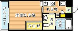 コンプレート千代ヶ崎[3階]の間取り