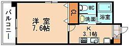 仮)古賀駅前マンション[1階]の間取り