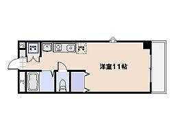 ALBA PASSO(アルバパッソ)[6階]の間取り