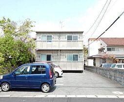 岡山県岡山市南区青江6丁目の賃貸アパートの外観