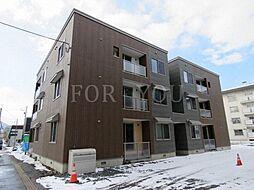 北海道札幌市西区発寒十二条4丁目の賃貸アパートの外観