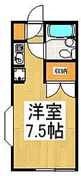 エルミエント朝霞台[1階]の間取り