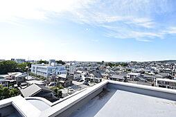 ルーフバルコニーからの眺望写真