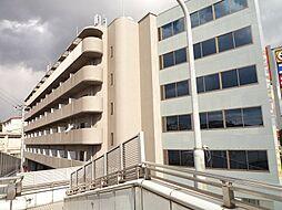 大阪府茨木市下穂積2丁目の賃貸マンションの外観