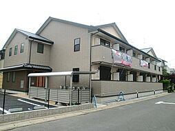 京都府京都市西京区山田猫塚町の賃貸アパートの外観