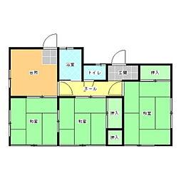 [一戸建] 茨城県水戸市東赤塚 の賃貸【/】の間取り