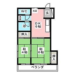 後藤ビル[4階]の間取り