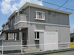 愛知県安城市横山町赤子の賃貸アパートの外観