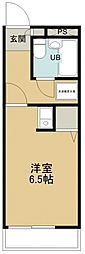 所沢メゾン3号館[402号室号室]の間取り