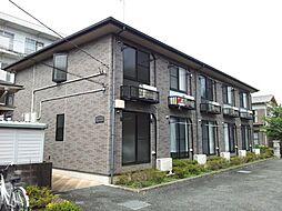東京都西多摩郡瑞穂町大字長岡長谷部の賃貸アパートの外観