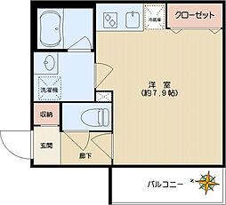 エスタジオ小石川[403号室]の間取り