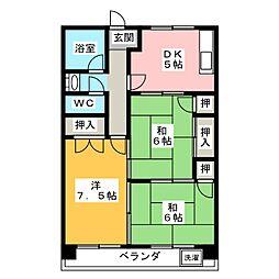 浅野ビル[4階]の間取り