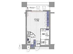 アーバンステージ堺筋本町[5階]の間取り