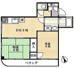 メゾンアロー[3階]の間取り