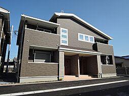 福岡県直方市大字知古の賃貸アパートの外観