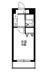 シティクレスト津田沼[2階]の間取り