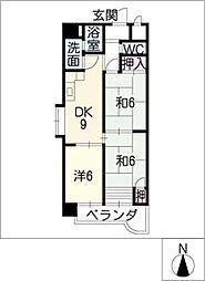 幸村ビル[9階]の間取り