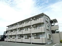 静岡県磐田市一言の賃貸マンションの外観