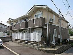 愛知県岡崎市羽根町の賃貸アパートの外観